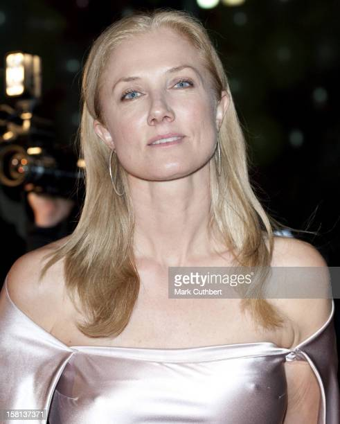 Joely Richardson Arrives At The Love Ball At The Roundhouse In Camden North London