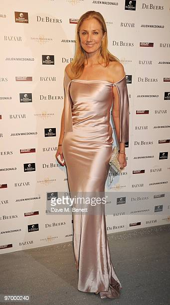 Joely Richardson arrives at the Love Ball London at the Roundhouse on February 23 2010 in London England