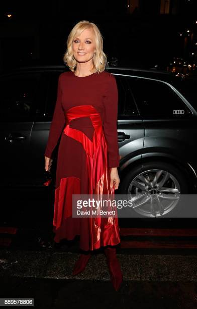 Joely Richardson arrives in an Audi at the British Independent Film Awards at Old Billingsgate on December 10 2017 in London England