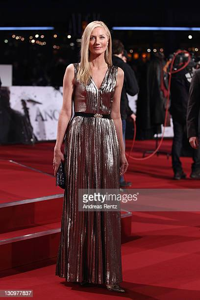 Joely Richardson attends Anonymus Germany Premiere at CineStar on October 30 2011 in Berlin Germany