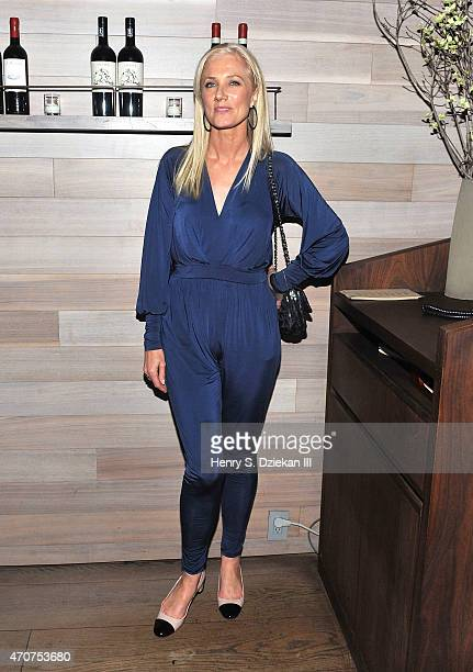 Joely Richardson attends Lionsgate Roadside Attractions host the after party for the Tribeca Film Festival World Premiere of 'Maggie' at Tutto II...