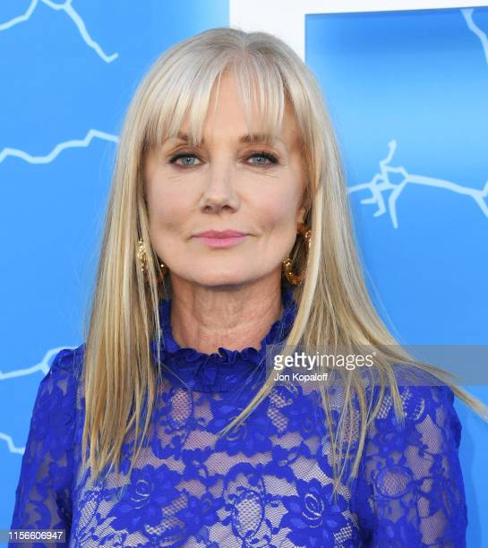 Joely Richardson attends LA Premiere Of Starz's The Rook at The Getty Museum on June 17 2019 in Los Angeles California
