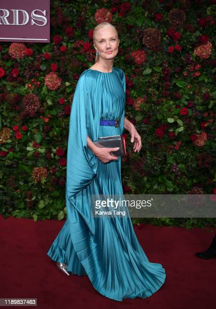 Joely Richardson attends the 65th Evening Standard Theatre Awards at London Coliseum on November 24, 2019 in London, England.