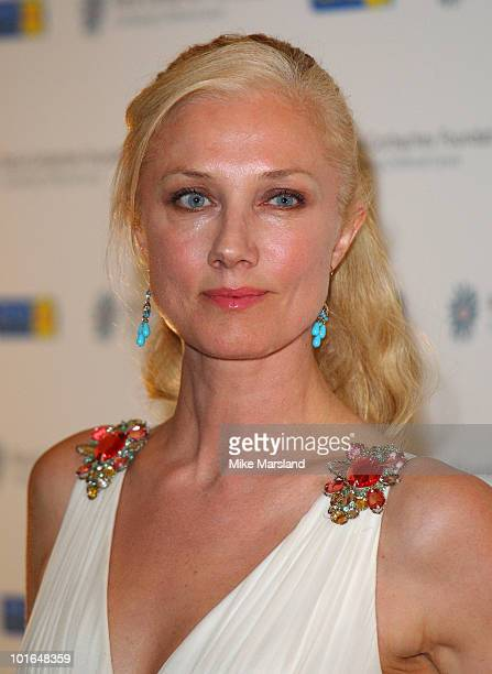 Joely Richardson attends the annual Raisa Gorbachev Foundation Party at Stud House Hampton Court on June 5 2010 in London England