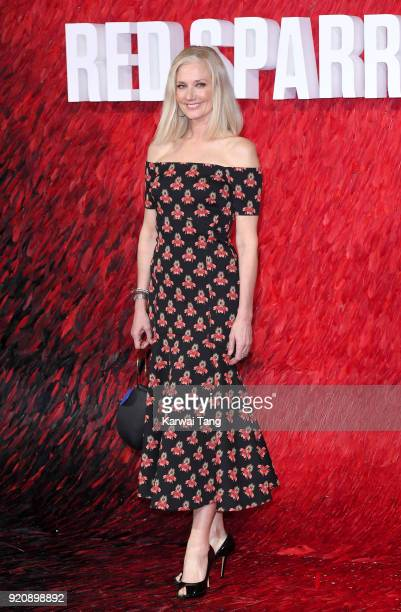 Joely Richardson attends the European Premiere of 'Red Sparrow' at the Vue West End on February 19 2018 in London England