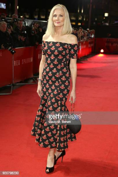 Joely Richardson attends the European Premiere of 'Red Sparrow' at Vue West End on February 19 2018 in London England