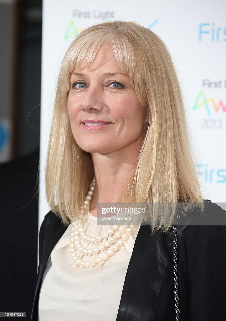 Joely Richardson attends the First Light Awards at Odeon Leicester Square on March 19, 2013 in London, England.