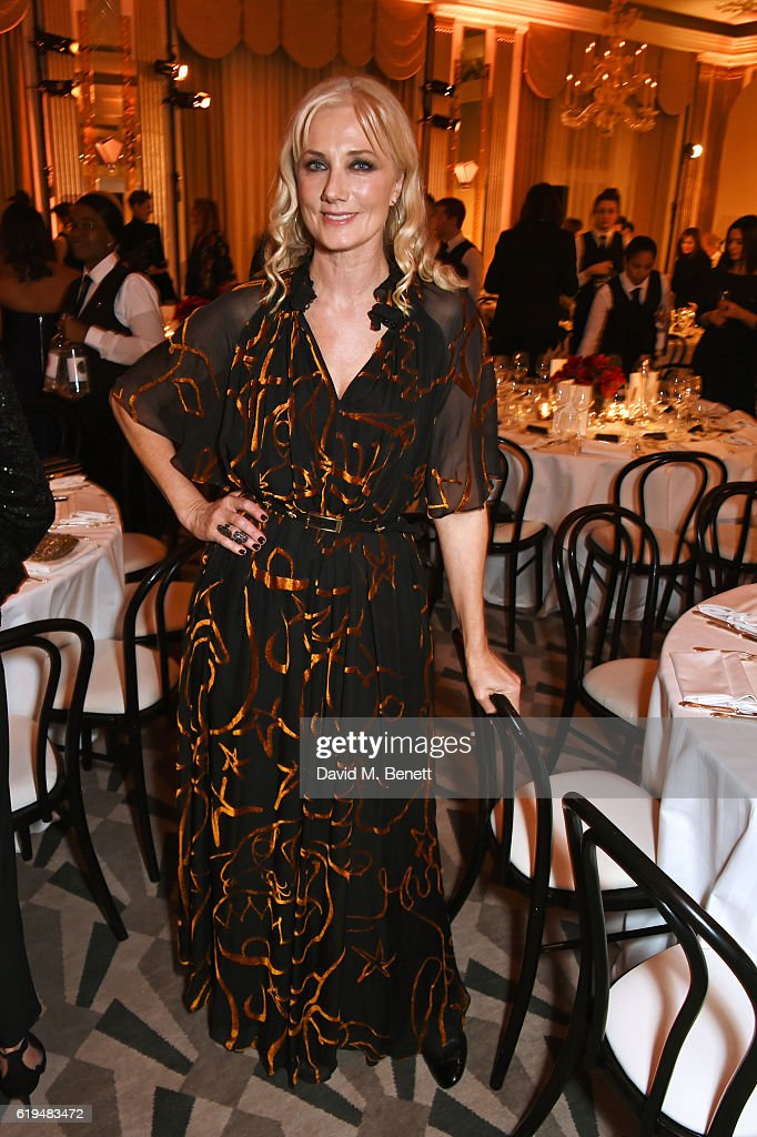 Joely Richardson attends the Harper's Bazaar Women of the Year Awards 2016 at Claridge's Hotel on October 31, 2016 in London, England.