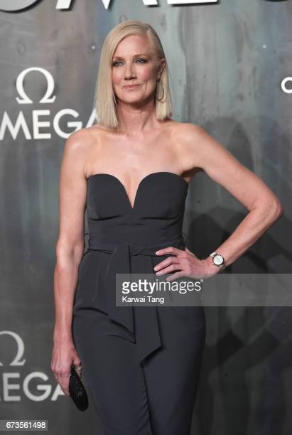 Joely Richardson attends the Lost In Space event to celebrate the 60th anniversary of the OMEGA Speedmaster at the Tate Modern on April 26 2017 in...