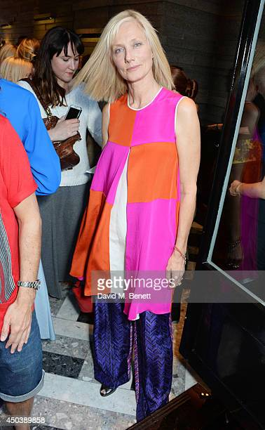 Joely Richardson attends the opening of Roksanda on Mount Street on June 10 2014 in London England