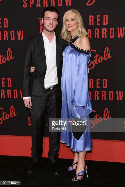Joely Richardson attends the premiere of 'Red Sparrow' at Alice Tully Hall at Lincoln Center on February 26 2018 in New York City