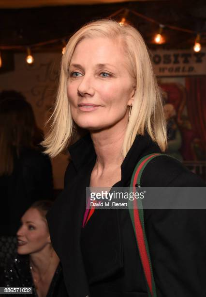 Joely Richardson attends the press night performance of 'Barnum' at the Menier Chocolate Factory on December 5 2017 in London England