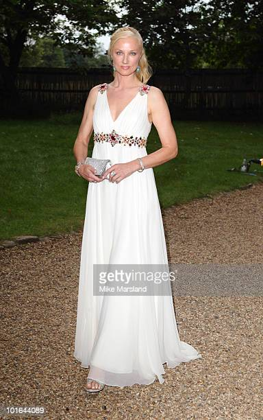 Joely Richardson attends the Raisa Gorbachev Foundation Party at Hampton Court on June 5 2010 in London England