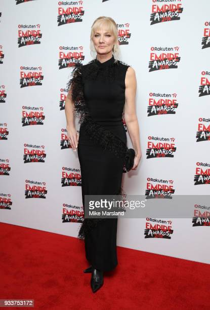 Joely Richardson attends the Rakuten TV EMPIRE Awards 2018 at The Roundhouse on March 18 2018 in London England