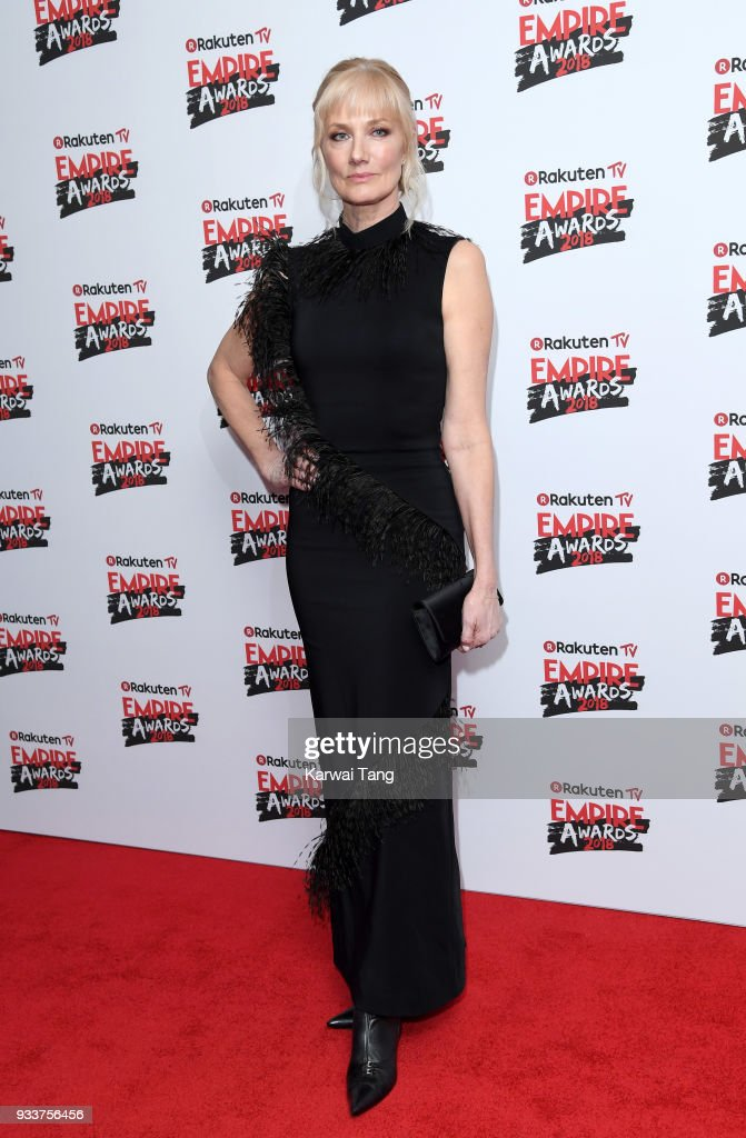 Joely Richardson attends the Rakuten TV EMPIRE Awards 2018 at The Roundhouse on March 18, 2018 in London, England.