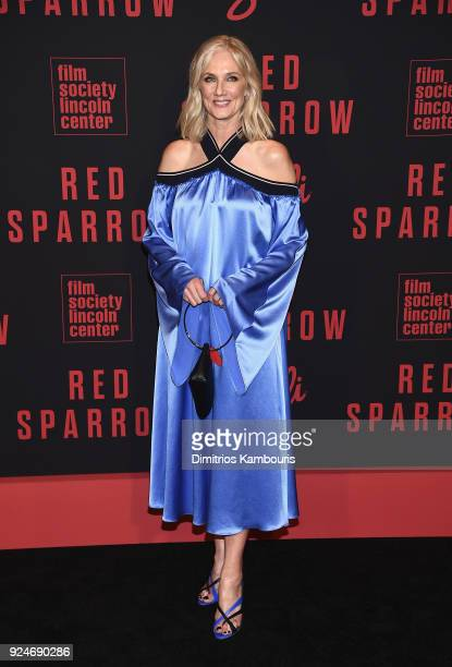 Joely Richardson attends the 'Red Sparrow' New York Premiere at Alice Tully Hall on February 26 2018 in New York City