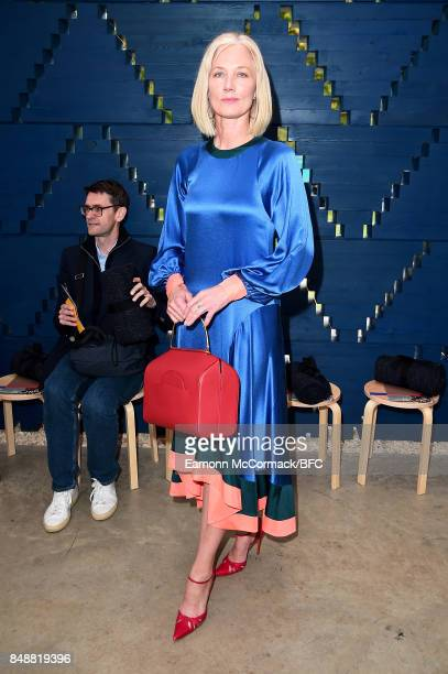 Joely Richardson attends the Roksanda show during London Fashion Week September 2017 on September 18 2017 in London England