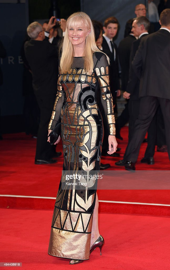 Joely Richardson attends the Royal Film Performance of 'Spectre' at the Royal Albert Hall on October 26, 2015 in London, England.