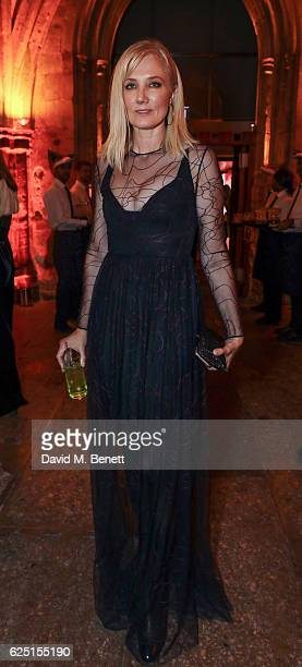 Joely Richardson attends the Save The Children Winter Gala at The Guildhall on November 22 2016 in London England