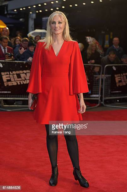 Joely Richardson attends the 'Snowden' Headline Gala screening during the 60th BFI London Film Festival at Odeon Leicester Square on October 15 2016...