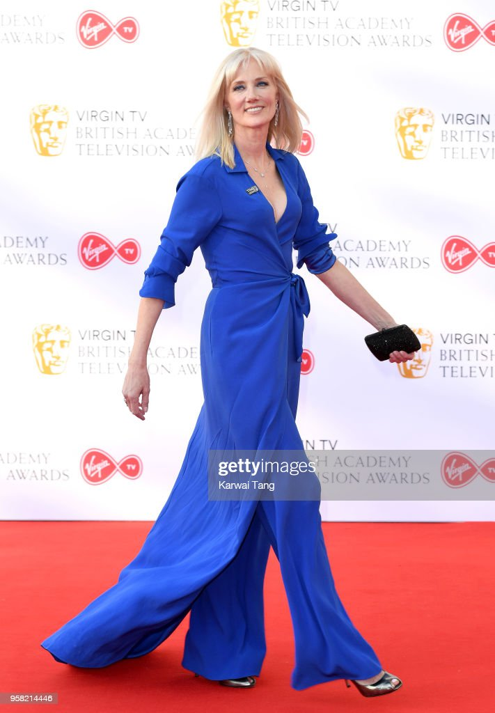 Joely Richardson attends the Virgin TV British Academy Television Awards at The Royal Festival Hall on May 13, 2018 in London, England.