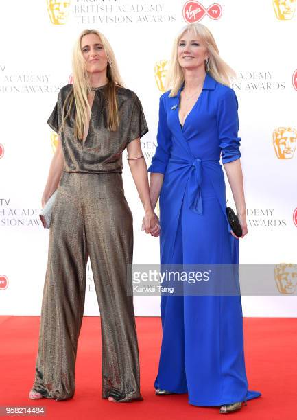 Joely Richardson attends the Virgin TV British Academy Television Awards at The Royal Festival Hall on May 13 2018 in London England