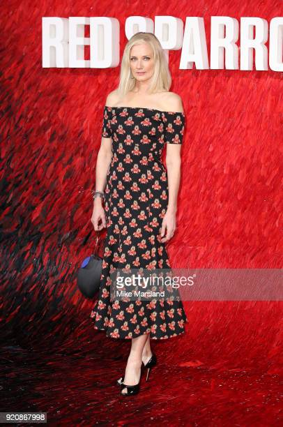 Joely Richardson attneds the European Premeire of 'Red Sparrow' at Vue West End on February 19 2018 in London England