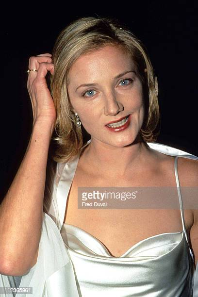 Joely Richardson during '101 Dalmatians' London Premiere at Leicester Square in London Great Britain