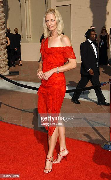Joely Richardson during 2003 Emmy Creative Arts Awards Arrivals at Shrine Auditorium in Los Angeles California United States