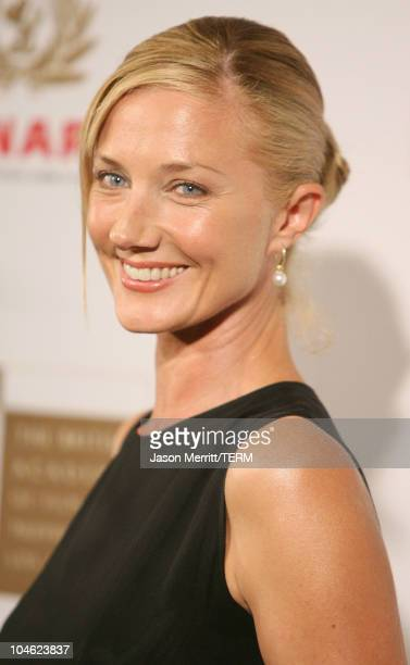 Joely Richardson during 2005 BAFTA/LA Cunard Britannia Awards Arrivals at Beverly Hilton Hotel in Beverly Hills California United States
