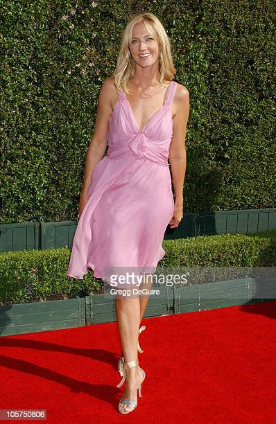 Joely Richardson during 2005 Emmy Creative Arts Awards Arrivals at Shrine Auditorium in Los Angeles CA United States