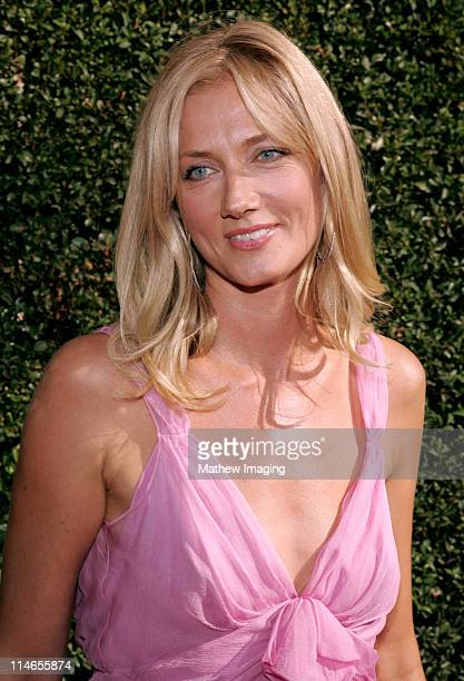 Joely Richardson during 57th Annual Primetime Creative Arts EMMY Awards Arrivals Red Carpet at Shrine Auditorium in Los Angeles California United...