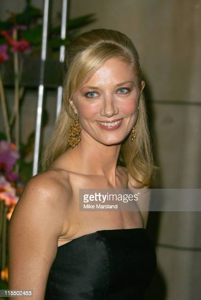 Joely Richardson during British Fashion Awards 2004 Arrivals at Victoria and Albert Museum in London Great Britain