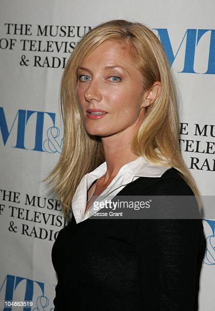 Joely Richardson during Miami Black and Blue A Look at 'Nip/Tuck' at The Museum of Television and Radio in Beverly Hills California United States