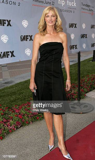 Joely Richardson during 'Nip/Tuck Season 2' Premiere Red Carpet at Paramount Theatre in Los Angeles California United States