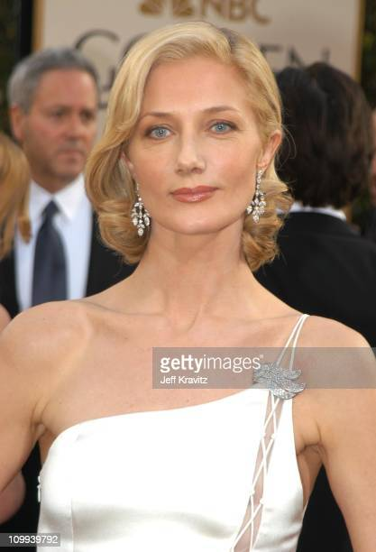 Joely Richardson during The 60th Annual Golden Globe Awards Arrivals at Beverly Hilton Hotel in Beverly Hills CA United States