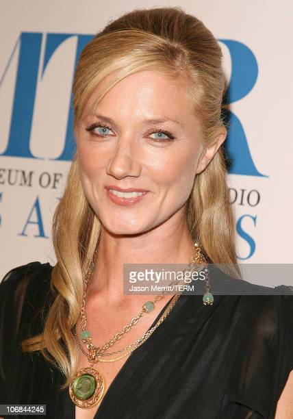 Joely Richardson during The Museum of Television Radio Honors Peter Chernin and John Wells with the Annual Los Angeles Gala at Beverly Hilton Hotel...
