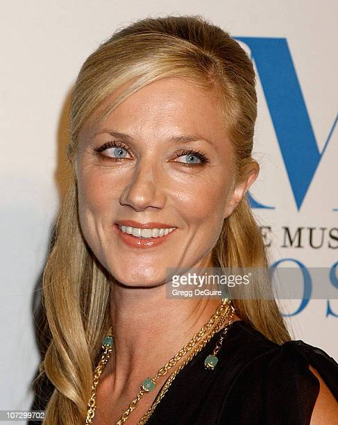 Joely Richardson during The Museum of Television Radio Honors Peter Chernin and John Wells at its Annual Los Angeles Gala Arrivals at Beverly Hilton...