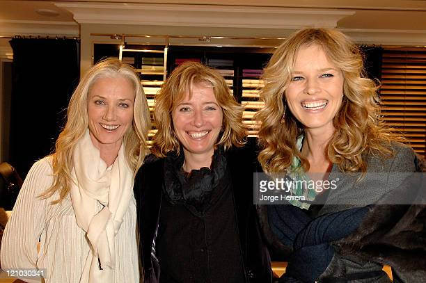 Joely Richardson Emma Thompson and Eva Herzigova at the Ballantyne Charity Party in benefit of the Helen Bamber Foundation held at the Ballantyne...