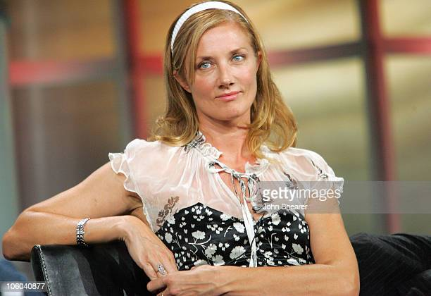Joely Richardson of 'Nip/Tuck' during Fox Summer 2006 TCA Press Tour at Ritz Carlton in Pasadena California United States