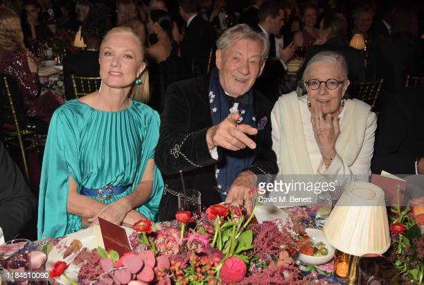 Joely Richardson Sir Ian McKellen and Vanessa Redgrave attend the 65th Evening Standard Theatre Awards in association with Michael Kors at the London...