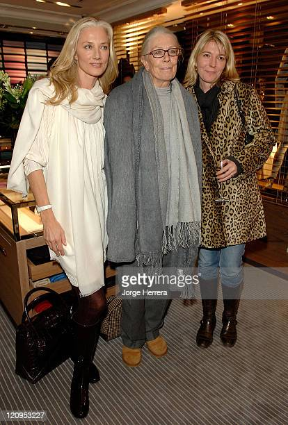 Joely Richardson Vanessa Redgrave and Jemma Redgrave at the Ballantyne Charity Party in benefit of the Helen Bamber Foundation held at the Ballantyne...