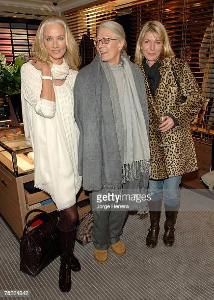 Joely Richardson Vanessa Redgrave and Jemma Redgrave at the Ballantyne Charity Party in benefit of the Helen Bamber Fundation held at the Ballantyne...