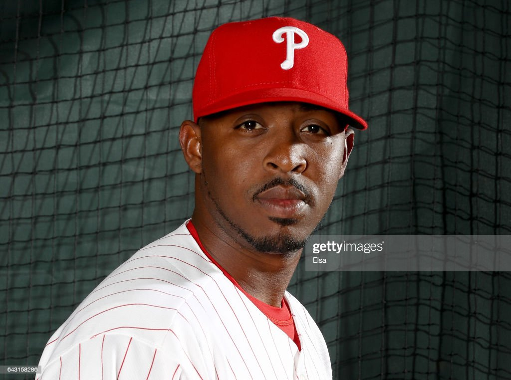Joely Rodriguez #63 of the Philadelphia Phillies poses for a portrait during the Philadelphia Phillies photo day on February 20, 2017 at Spectrum Field in Clearwater, Florida.