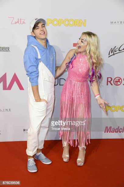 Joely White and his sister Chany Dakota attend the Stylorama on November 18 2017 in Dortmund Germany