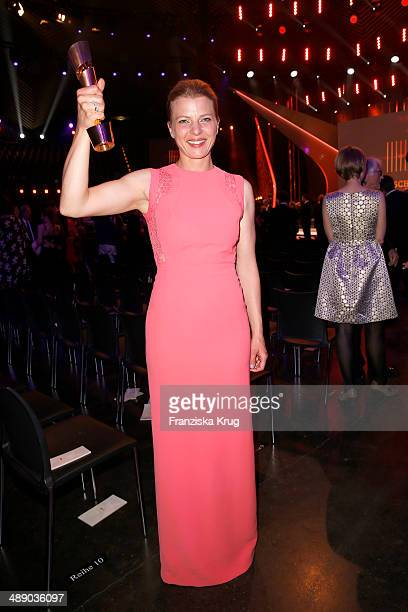 Joerdis Triebel attends the Lola German Film Award 2014 at Tempodrom on May 09 2014 in Berlin Germany
