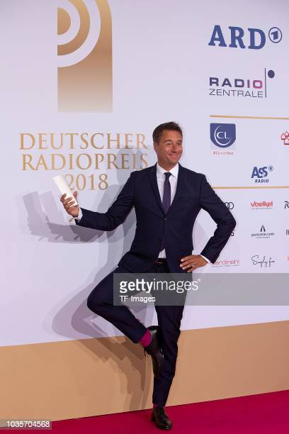 Joerg Boecker attends the Deutscher Radiopreis at Schuppen 52 on September 6 2018 in Hamburg Germany