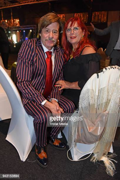 Joerg Drager and his wife Petra Draeger attend the 'Goldene Sonne 2018' Award by SonnenklarTV on April 7 2018 in Kalkar Germany