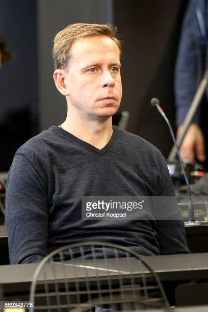 Joerg Heinrich new assistant coach of Dortmund is seen during the press conference at Signal Iduna Park on December 10 2017 in Dortmund Germany