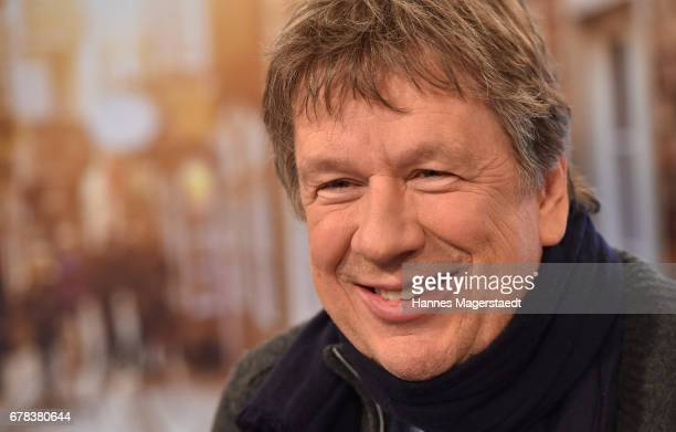 Joerg Kachelmann during the photo call for the show 'Kachelmannwetter' at sonnenklarTV studios on May 4 2017 in Munich Germany After six years Joerg...